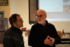 Max Dejardin et Michel Falguieres