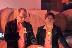 Hervé Flory, Marie-José Querel membres du bureau du club taurin