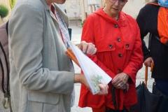Françoise Lienhard et  Monique Christol,  ajointe déléguée à la culture.