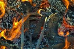 le fer au feu