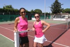 Consolante Dame Victoire Camille Daussy (TC St Laurent D'aigouze) face Céline Lellouche (TC Tennisclub Codognan ) 46 60 10
