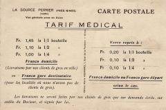 08_Tarif médical par carte postale