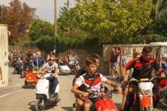 Cortège des motards