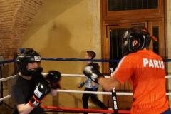 Boxing Club 1980 l'entrainement des jeunes