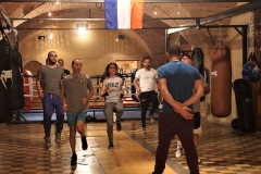 Boxing Club 1980 l'échauffement