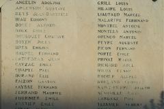 Monument aux morts Beauvoisin