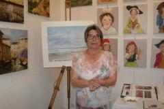 02 expo Marie-France Saquet et Bernadette Jahan à la capitainerie