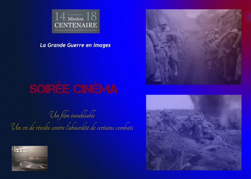 """<span style=""""color:#e80014; font-weight:bold;"""">Soirée cinéma</span><br />Espace Jean Jaurès<br /><span style=""""font-style:italic;"""">à 20h30</span>"""