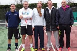 Vincent Daudé, David Sailliot, Fabien Combes, Éric Liotard, Gilles Beignet.