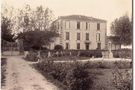 Le mas Praviel à Aimargues en 1890 (Col. Robert Faure)