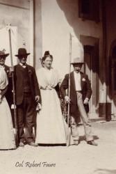 Fanfonne entre Mathieu Raynaud et Folco de Baroncelli  20 avril 1912