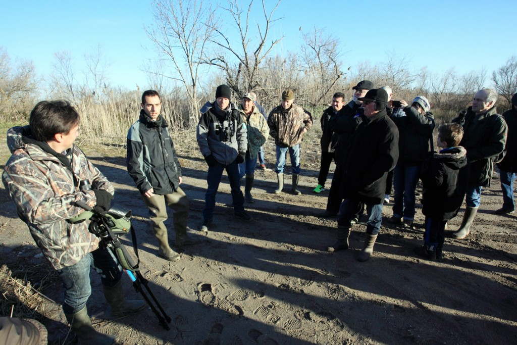 Chasseurs et naturalistes se sont retrouvés pour une belle balade dans la Réserve Naturelle Régionale