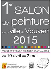 """<span style=""""color:#e80014; font-weight:bold;"""">Expo<br />1er Salon de peinture</span><br />Espace Jean Jaurès<br /><span style=""""font-style:italic;"""">du 10 avril au 2 mai"""