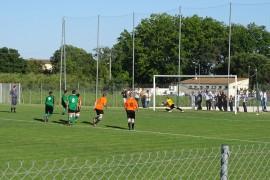 1er but sur penalty (Hammouch)