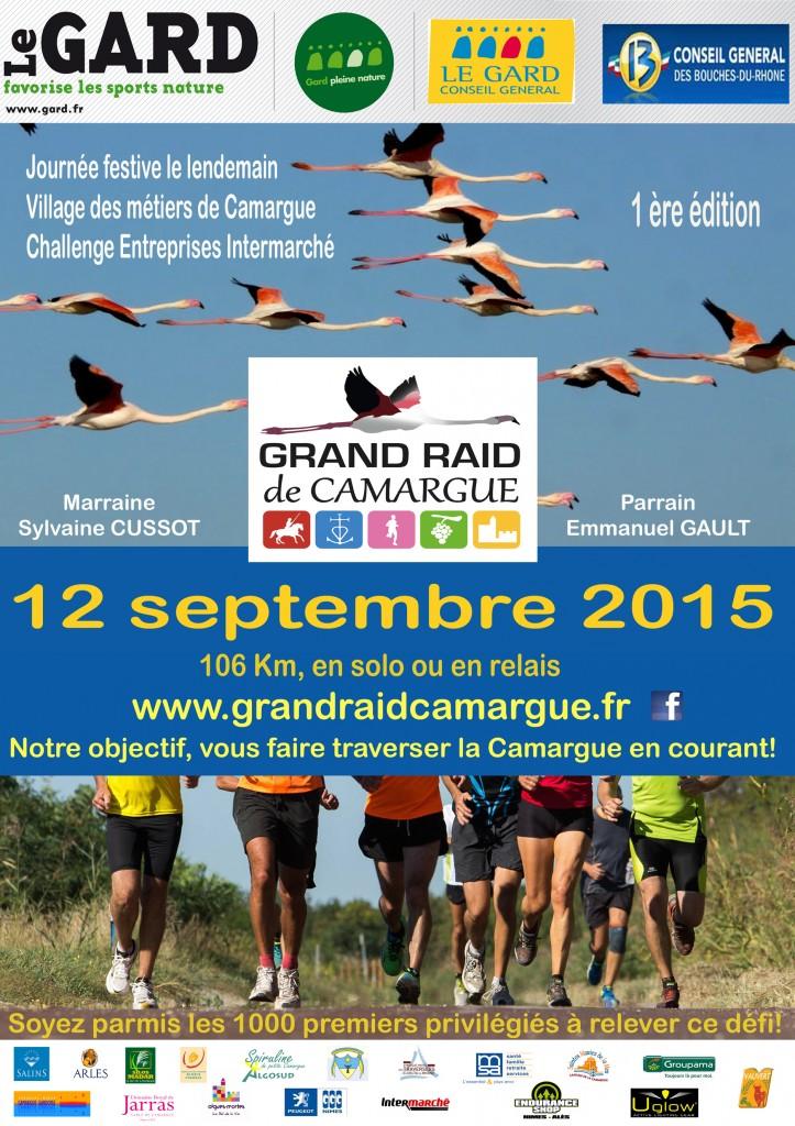 "<span style=""color:#e80014; font-weight:bold;"">1<sup>er</sup> Grand Raid de Camargue</span>"