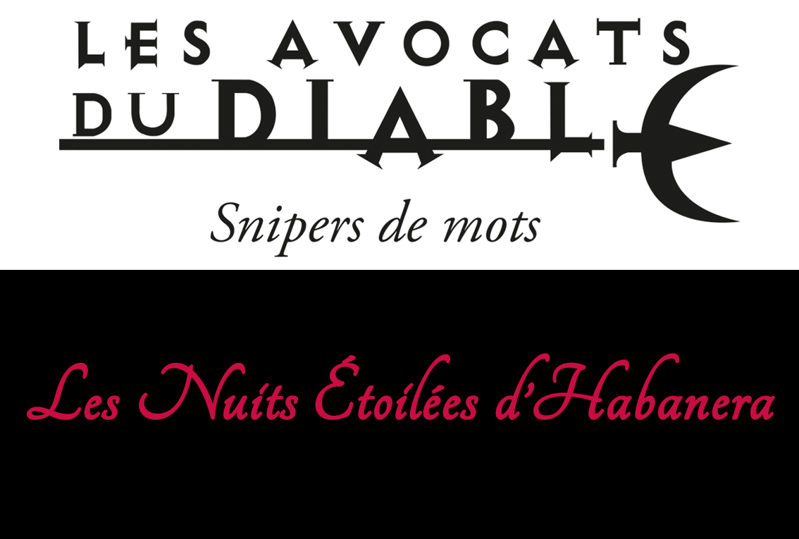 "<span style=""color:#e80014; font-weight:bold;"">Les Nuits Étoilées d'Habanera</span><br />Beauvoisin<br /><span style=""font-style:italic;"">à 21h30</span>"