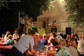 Repas musical à la bodega Manzanarès