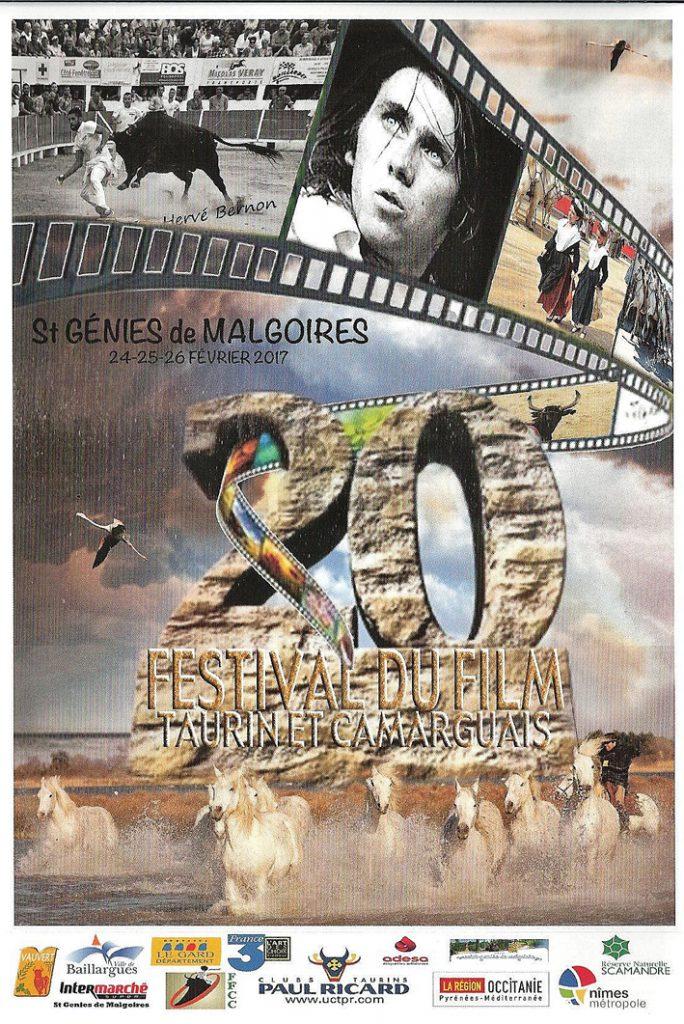 """<span style=""""color:#e80014; font-weight:bold;"""">Festival du film<br />Taurin et Camarguais</span><br />St-Geniès de Malgoirès<br /><span style=""""font-style:italic;"""">24, 25 et 26 février</span>"""