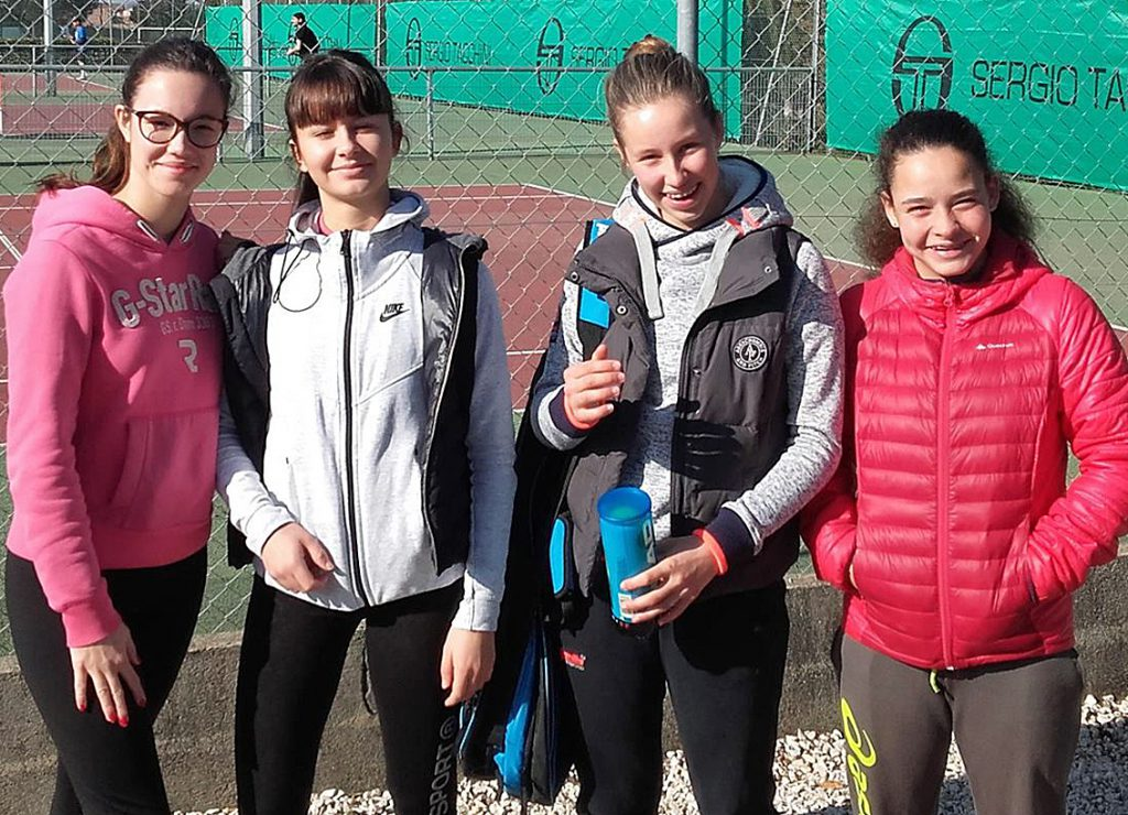 Equipe 1 féminines TC Vauvert