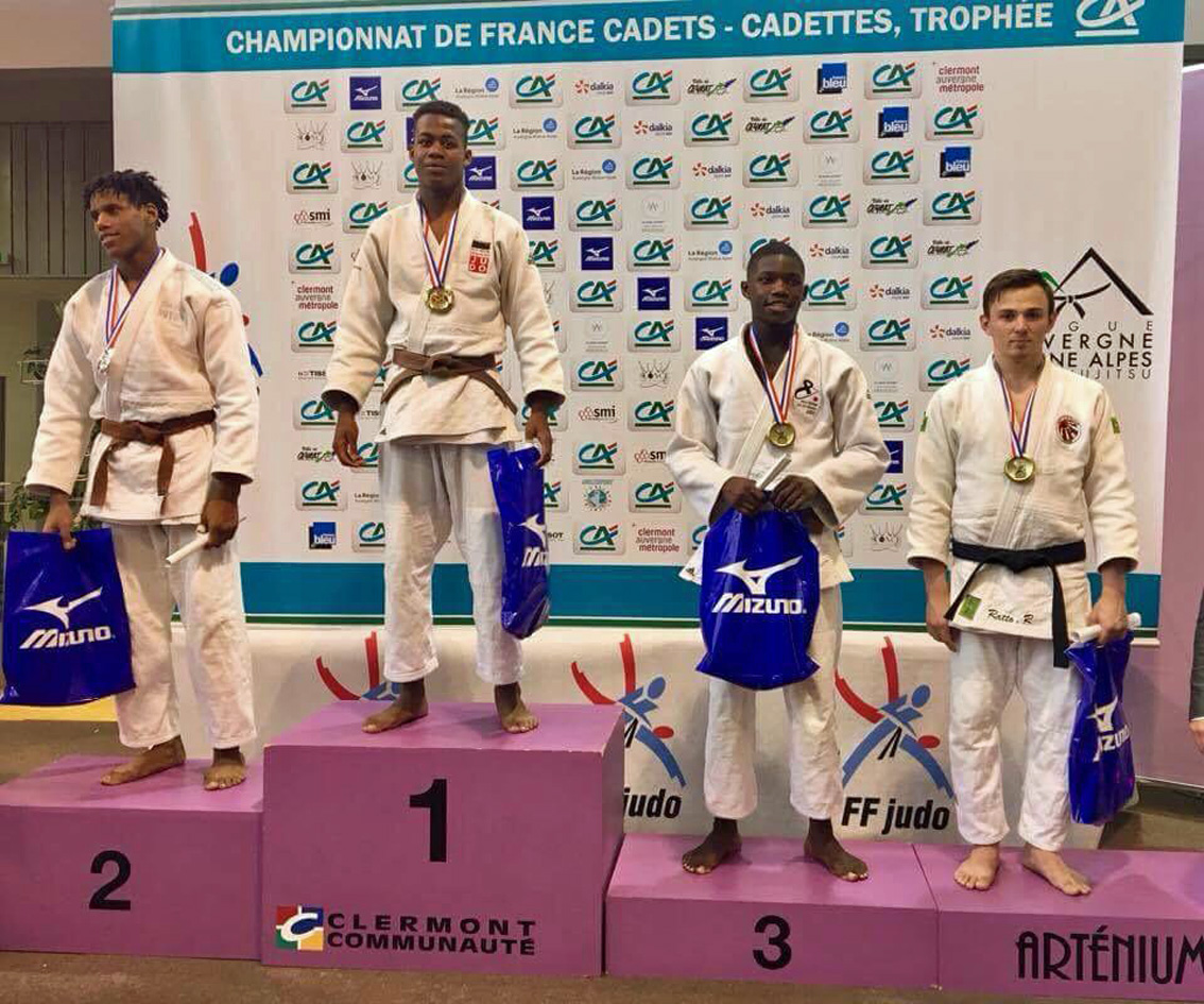 Championnat de France Cadets de Judo : Robin Ratto décroche la 3ème marche du podium