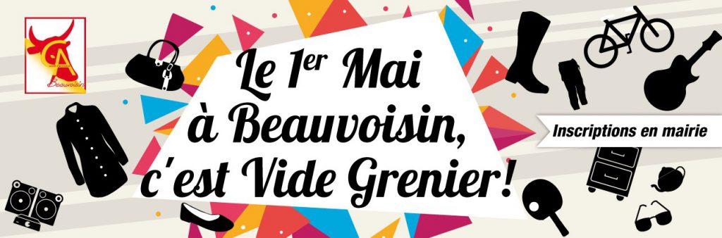 Vide Grenier à Beauvoisin @ Sur la place