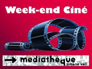 Week-end cinéma @ Médiathèque Simone Veil à Vauvert