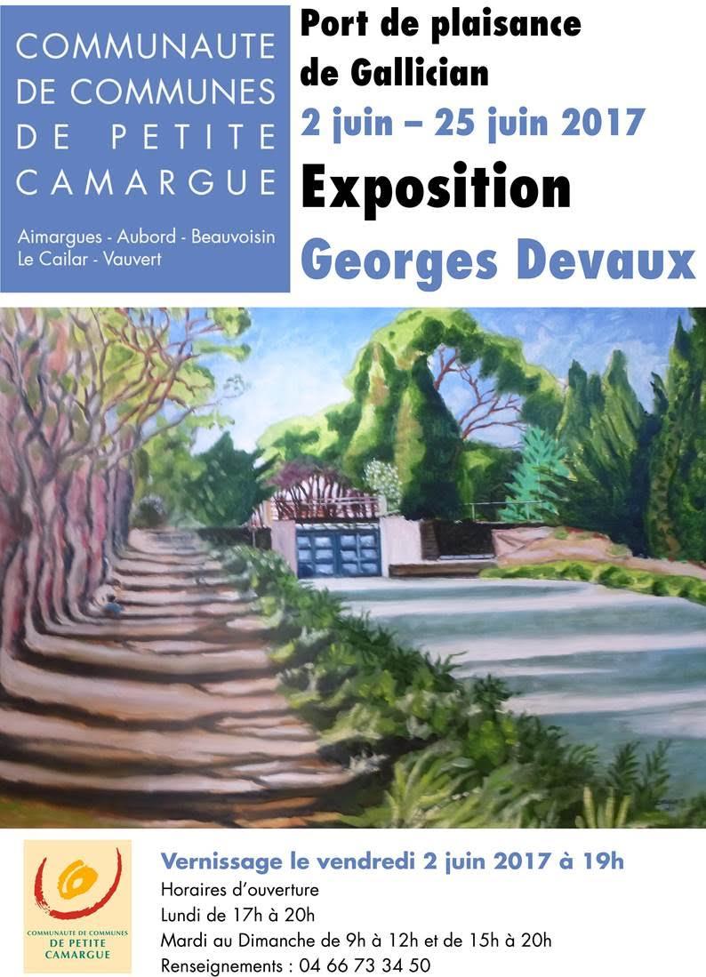 Exposition Georges Devaux @ Port de plaisance de Gallician