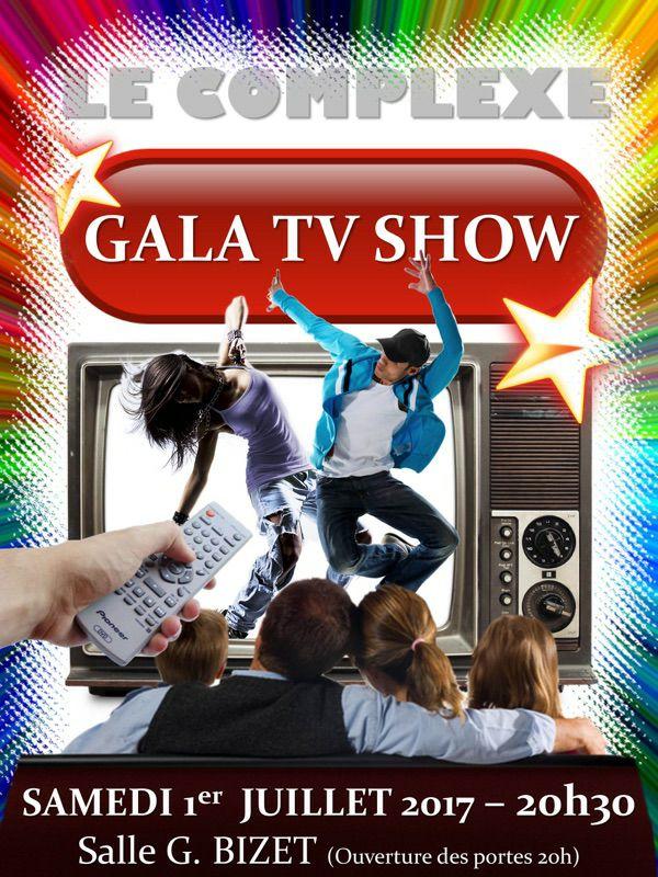 Gala TV Show @ Salle Bizet à Vauvert