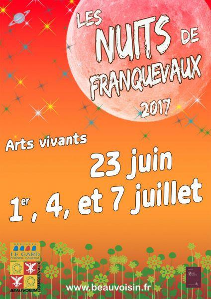 Les nuits de Franquevaux 2017 @ Chapelle de Franquevaux