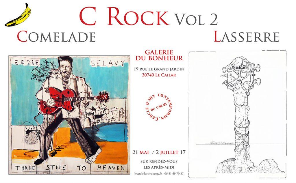 C Rock Vol.2 @ la galerie du bonheur à Le Cailar