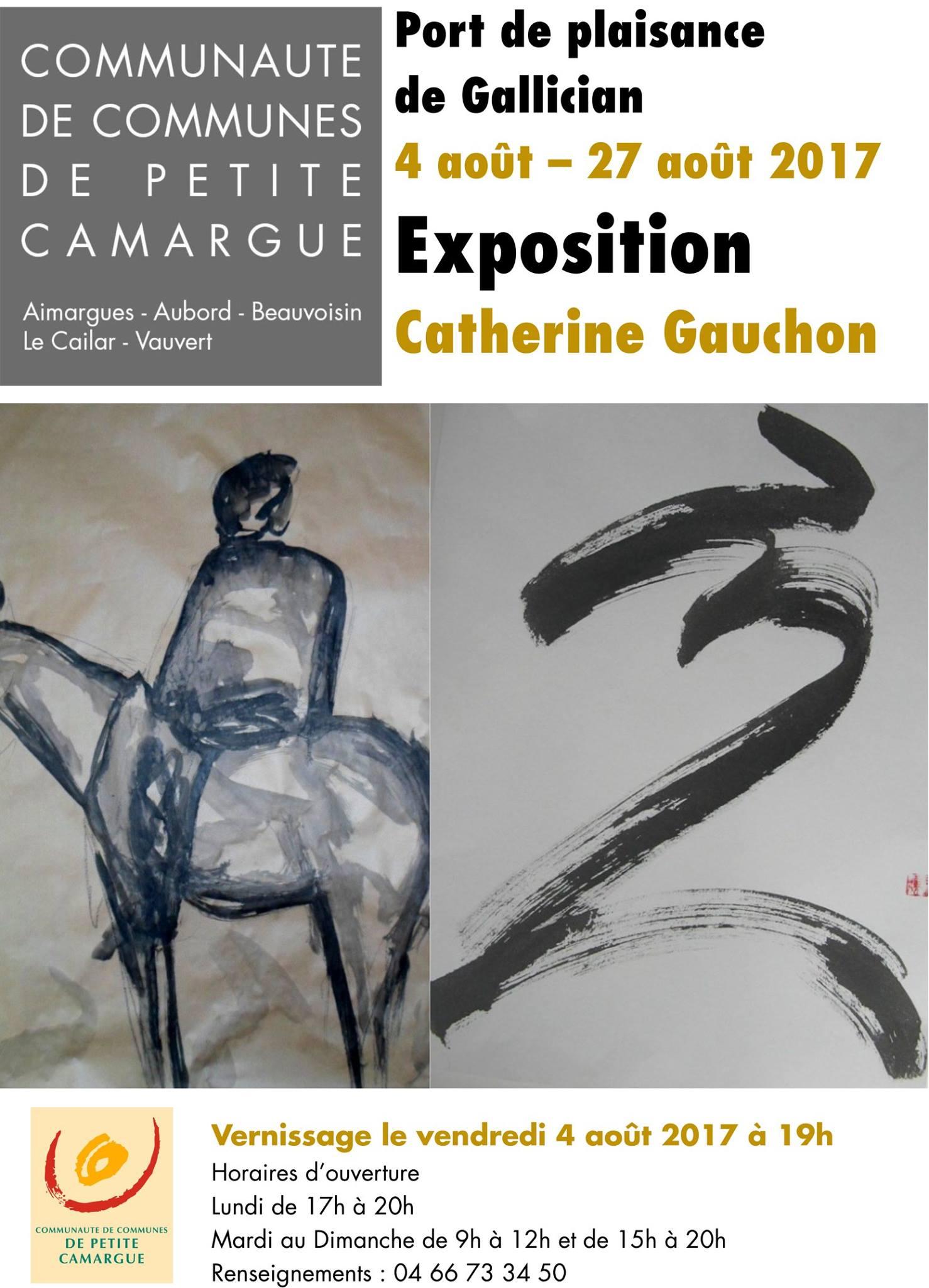 Exposition Catherine Gauchon @ Port de plaisance de Gallician