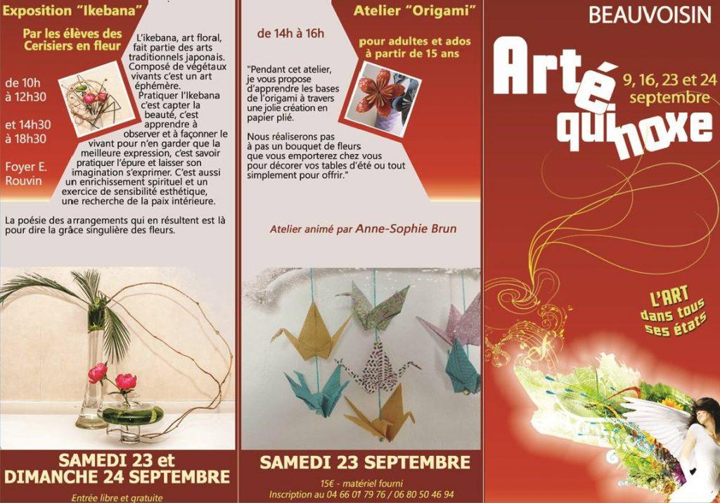 ArtÉquinoxe @ Foyer E. Rouvin à Beauvoisin