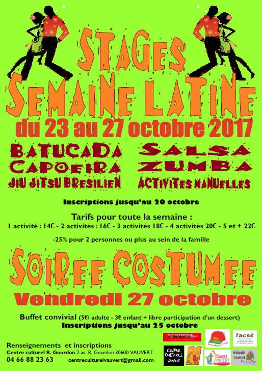 Semaine Latine @ Centre culturel R-Gourdon à Vauvert