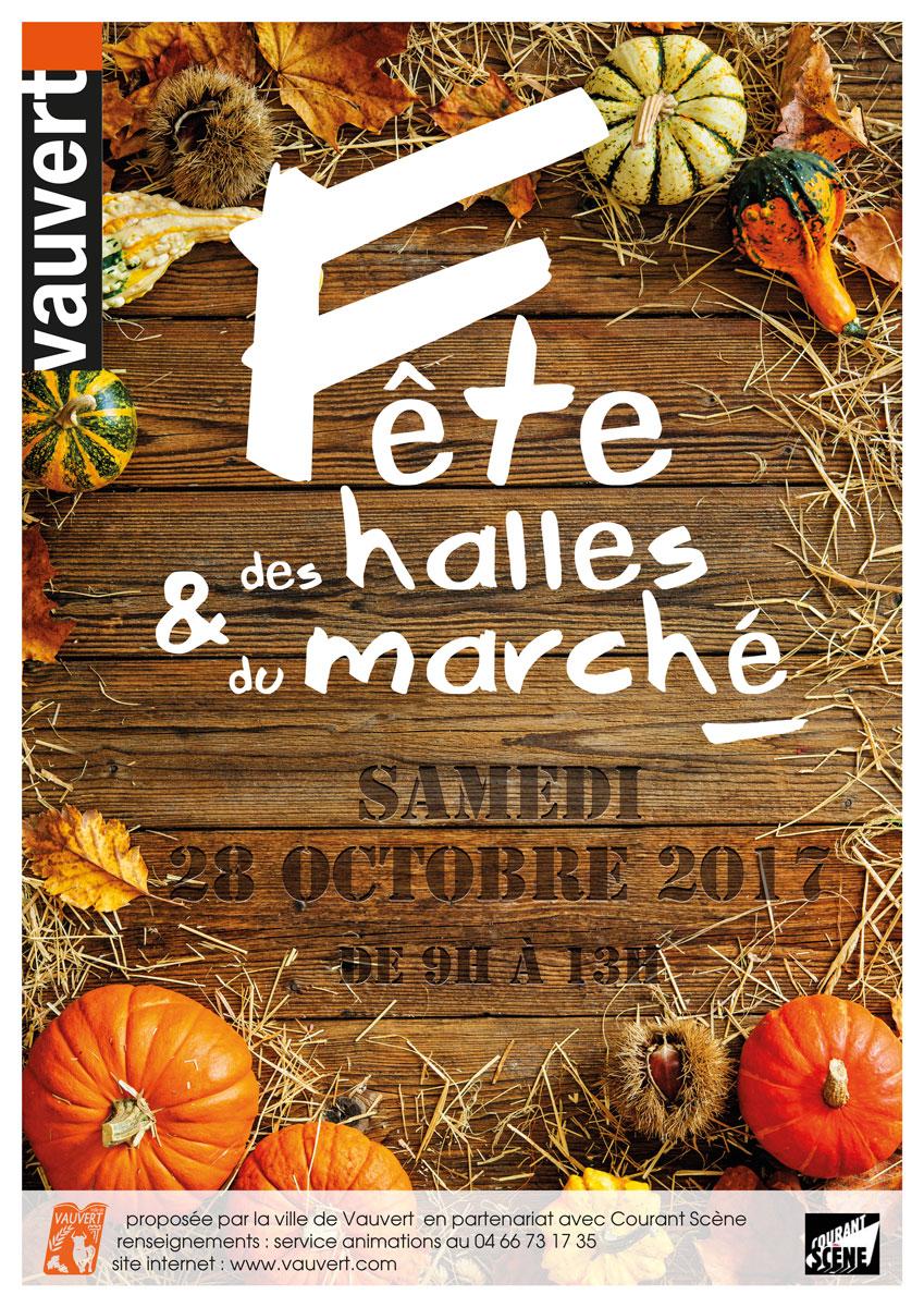 Fête des halles et du marché @ Place du Dr Arnoux à Vauvert | Vauvert | Occitanie | France