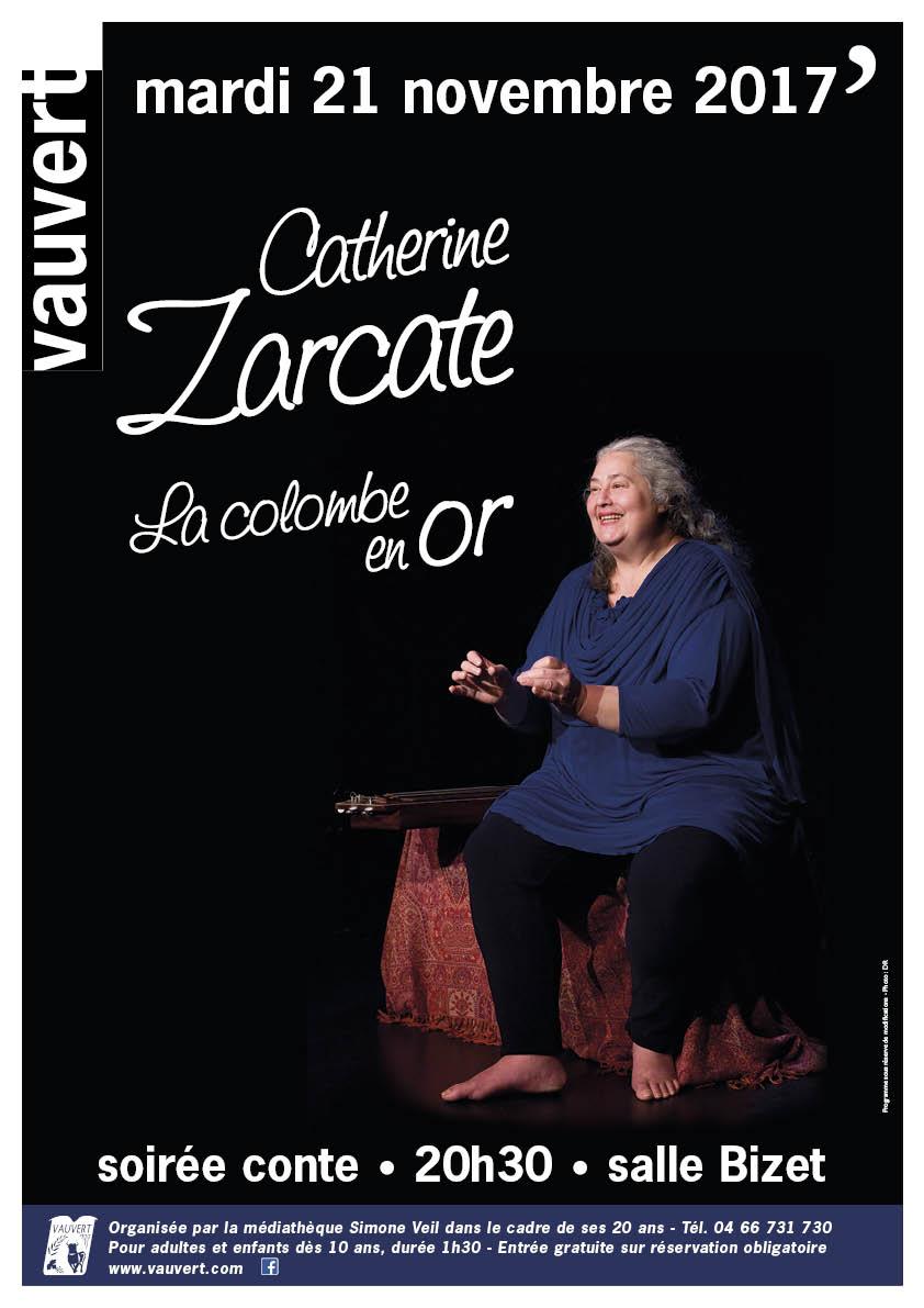 Soirée contes : La colombe en or @ Salle Bizet à Vauvert