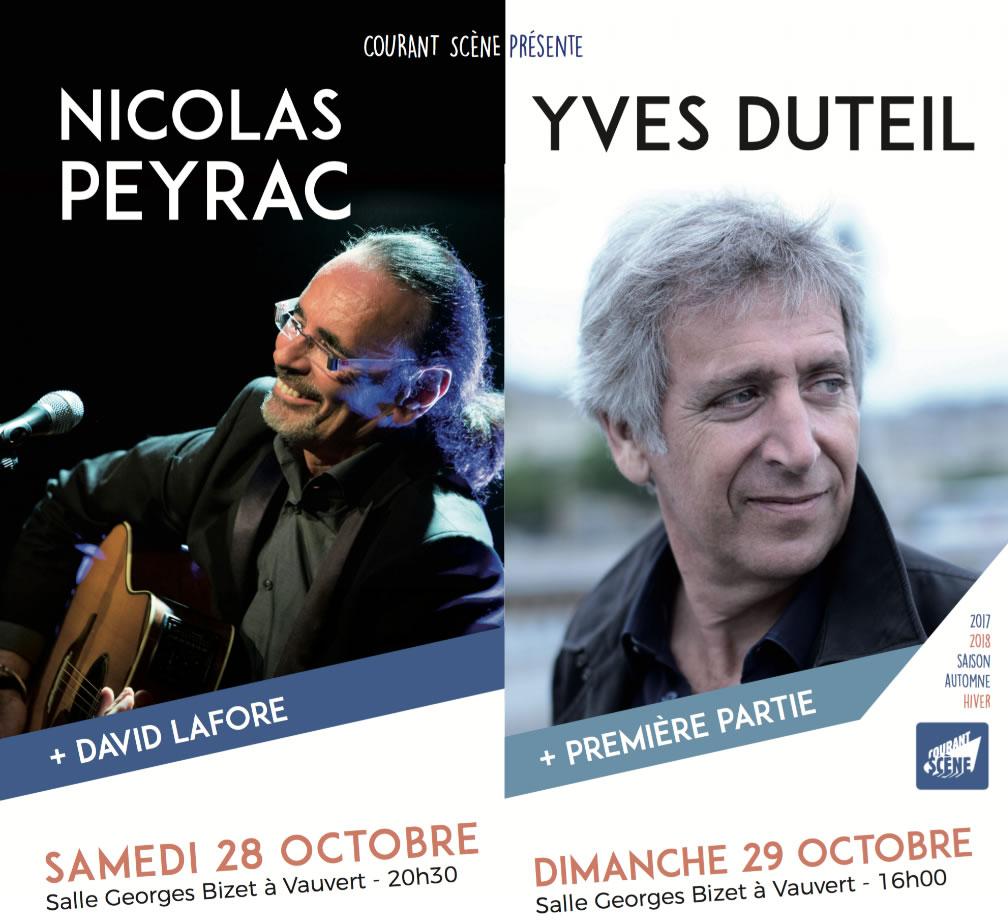 Nicolas Peyrac @ Salle Bizet à Vauvert