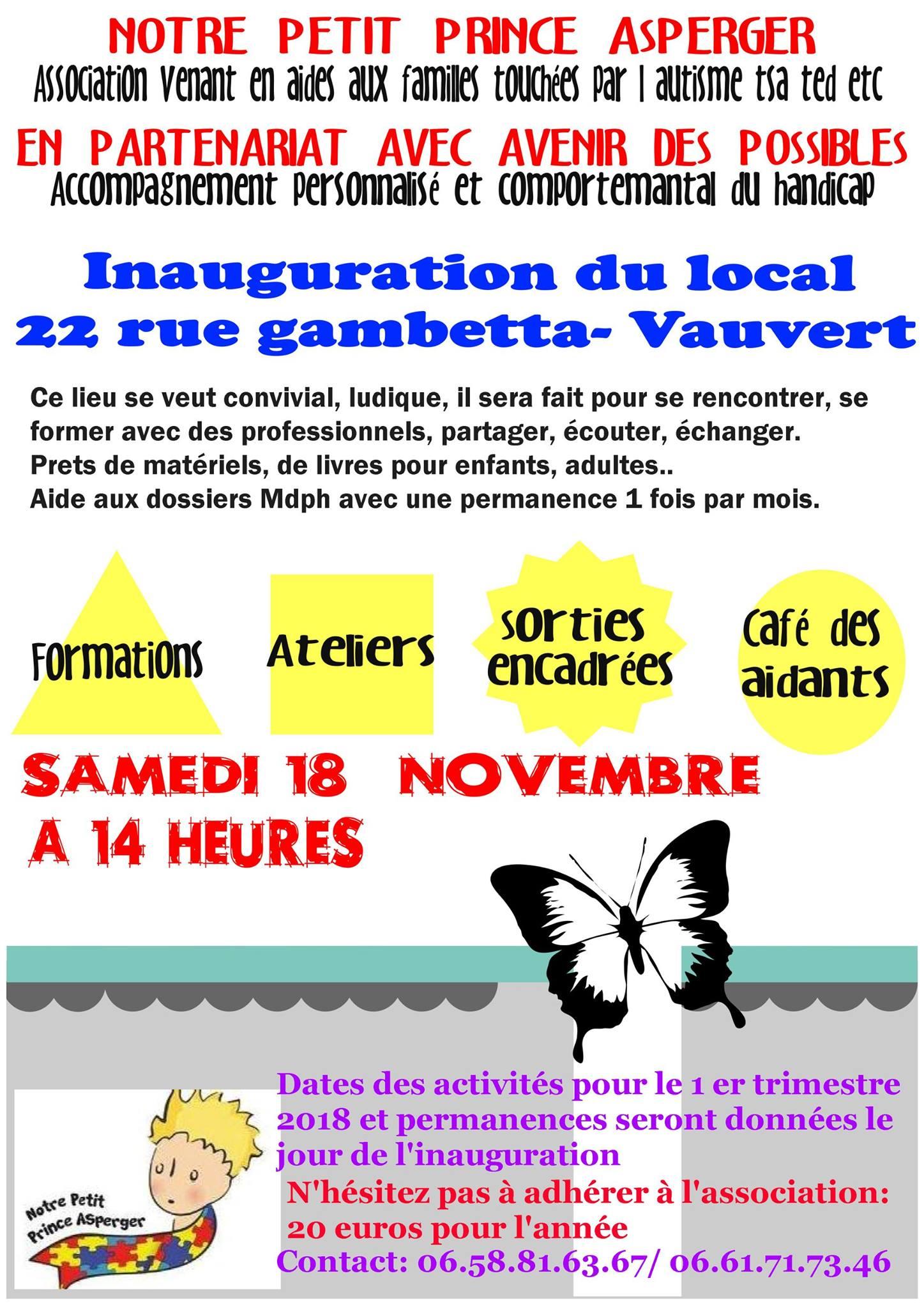 Inauguration local @ 22, rue Gambetta à Vauvert