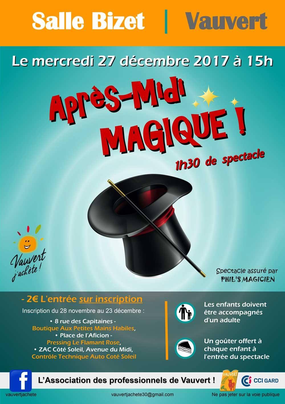 Après-midi Magique @ Salle Bizet à Vauvert | Vauvert | Occitanie | France