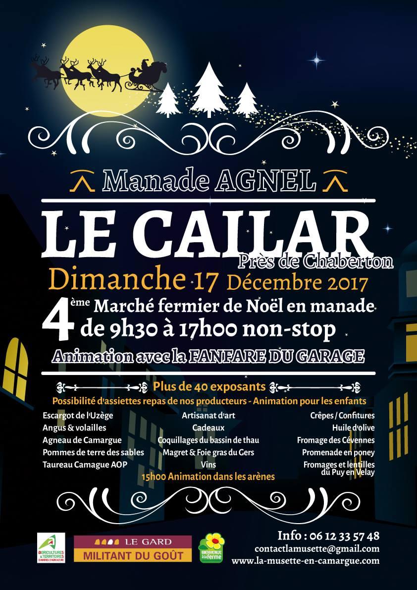 Marché fermier de Noël en Manade @ Manade Agnel au Cailar | Le Cailar | Occitanie | France