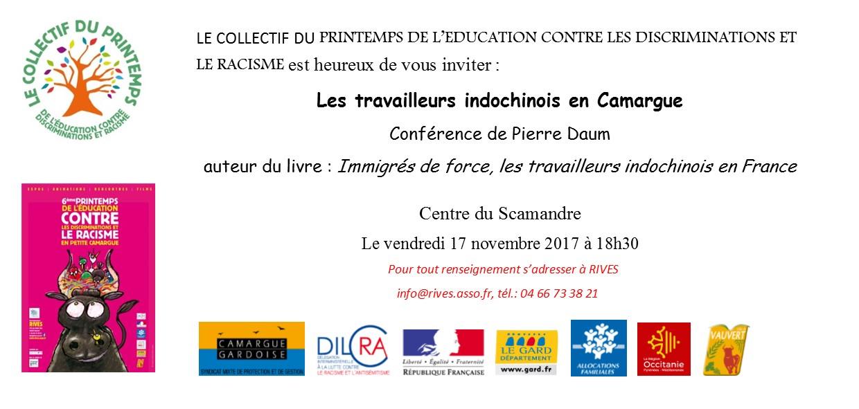 Conférence @ Scamandre à Vauvert