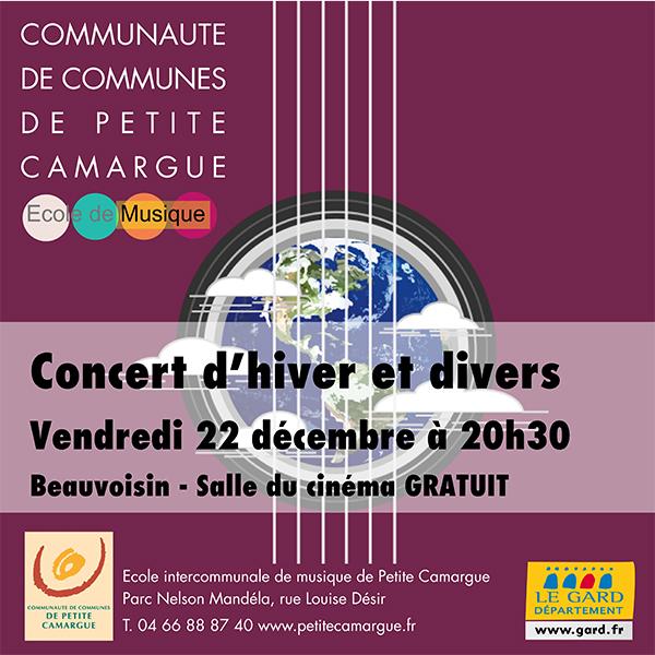 Concert d'hivers et divers @ salle de cinéma à Beauvoisin | Beauvoisin | Occitanie | France