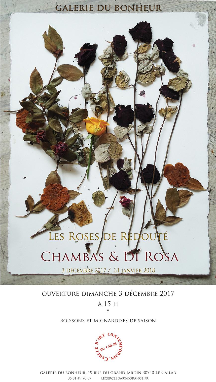Exposition Les Roses de Redouté @ Galerie du bonheur au Cailar | Le Cailar | Occitanie | France