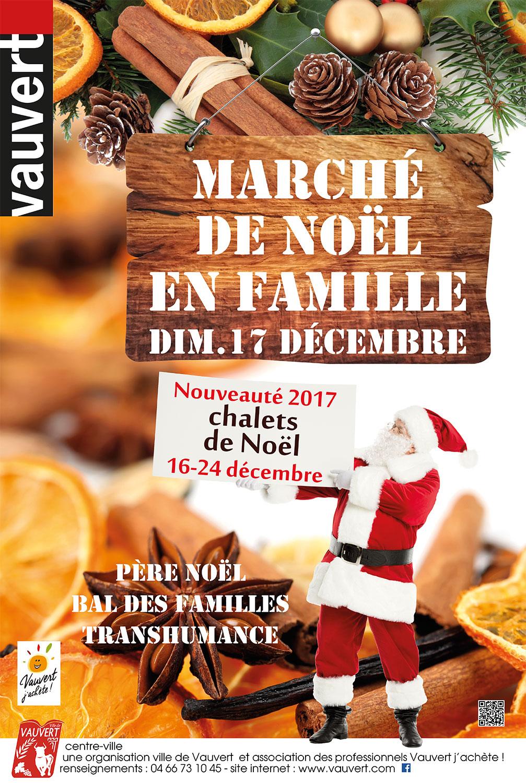 Marché de Noël de Vauvert @ Place du Dr Arnoux à Vauvert | Vauvert | Occitanie | France