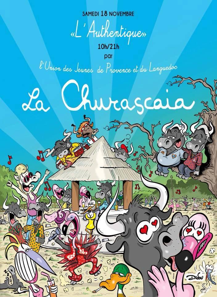 Journée L'Authentique @ la Churascaia à Vauvert