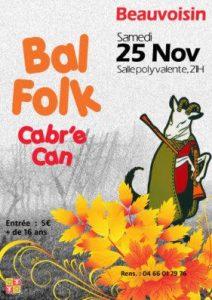 Bal Folk   Cabré Cane @ BEAUVOISIN