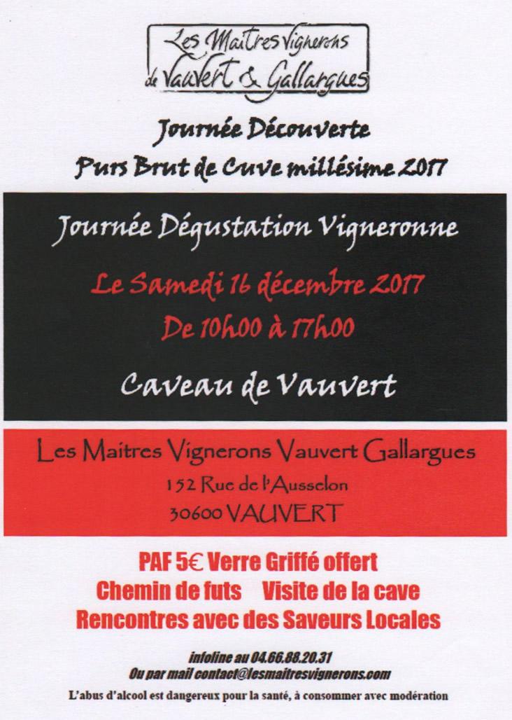 Journée découverte à la cave @ Cave coopérative de Vauvert | Vauvert | Occitanie | France