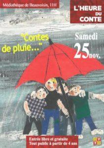 L'Heure du conte : Contes de pluie @ BEAUVOISIN