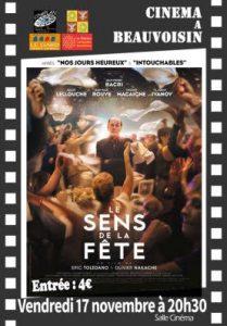 CINEMA : Le Sens de le Fête @ BEAUVOISIN