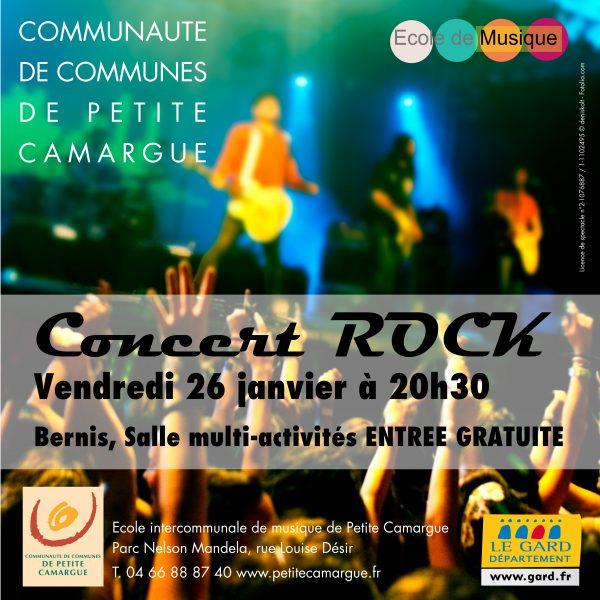 Concert Rock @ Salle Multi activités à Bernis | Bernis | Occitanie | France