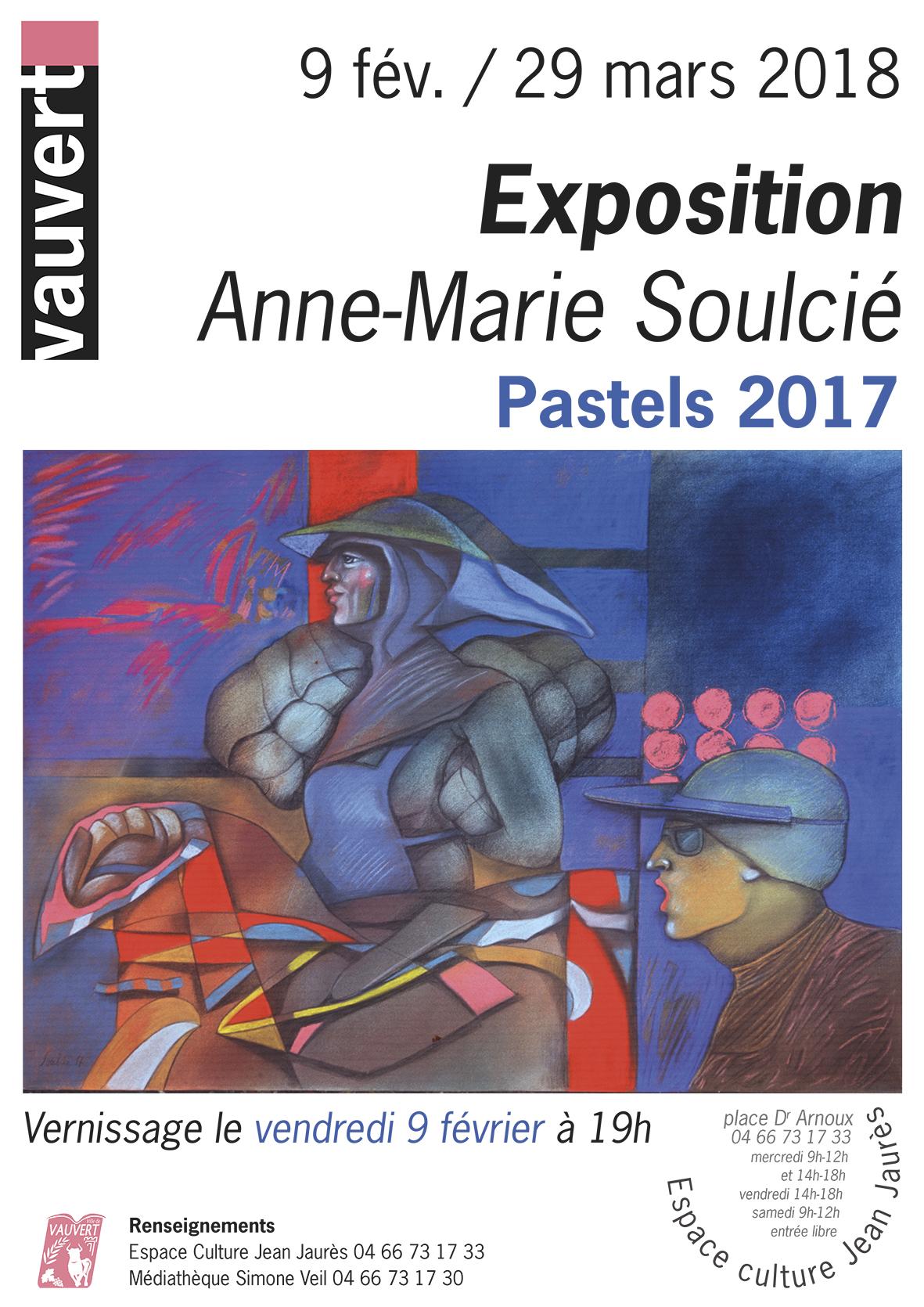 Exposition de pastels Anne-Marie Soulcié @ Espace Culture Jean Jaurès à Vauvert | Vauvert | Occitanie | France